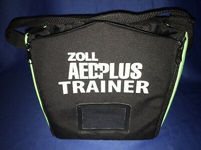ZOLL® Soft Carry Bag For AED Plus® TRAINER Part #: 8000-0375-01