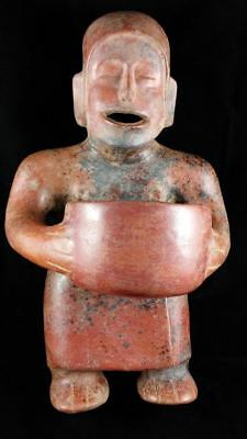 Colima Standing Figure Ancient Precolumbian Mexico Artifact - Museum Exhibited!