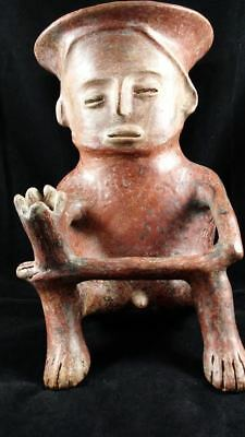 Colima Standing Figure Ancient Precolumbian Mexico Artifact - Tl Tested!