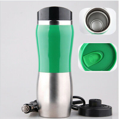 12V Car Stainless Steel Kettle Cup Warm Water 100° Hot Water-Heater Best Sale