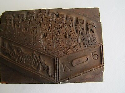 Coca Cola Copper Plate Printing Block, Crate of Coca Cola Bottles