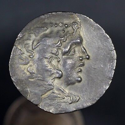 c. 120 B.C. Alexander the Great Ancient Greek Silver Tetradrachm Coin, Odessos