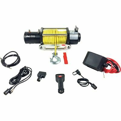 Electric Winch - 9,500lb, 12 Volt, Synthetic Rope