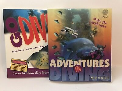 Adventures In Diving & Go Dive Books by PADI