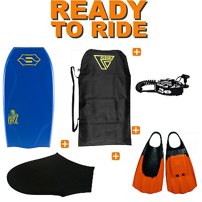 Pack Bodyboard Sniper Chase PE Action Series Bleu