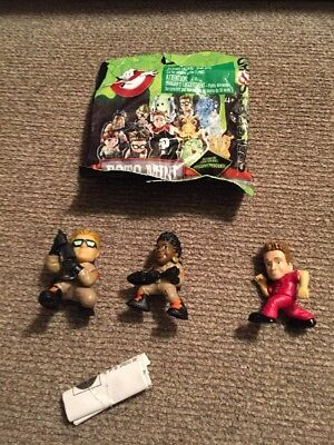 Ghostbusters Ecto Mini  KEVIN BECKMAN, Patty, Running Man Lot Of 3