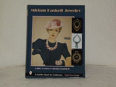 Miriam Haskell Jewelry Hardcover Book W / Jacketcover