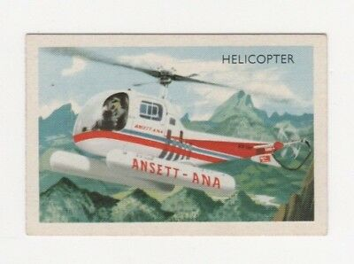 Australian Transport Trade card: Aviation - Ansett ANA Bell Helicopter