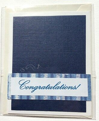 Handmade Congratulations! Card, Max $2 Postage For Any Number of Cards