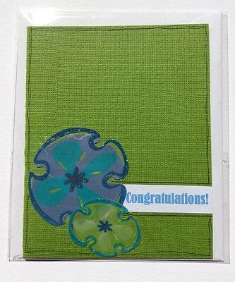 Handmade Card, congratulations, Max $2 Postage For Any Number of Cards