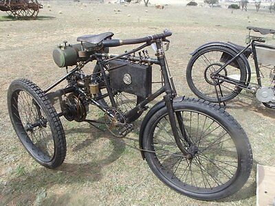1900 Other Makes motor tricycle  c1898 DE DION BOUTON PEUGEOT MOTORTRICYCLE~A PRICELESS, RUNNING ORIGINAL