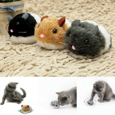 Pet Cat Rat Mouse Shock Shake Interactive Cute Plush Toys Puppy Pet Funny Gifts