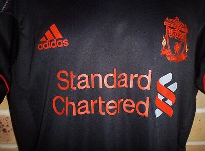New Medium Mens Authentic Liverpool EPL Soccer Football Jersey Training Top