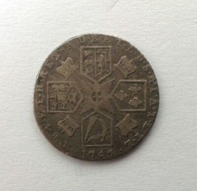 Great Britain Sixpence George III 1787 #CIJ