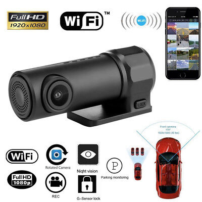 Mini WIFI Car DVR FHD 1080P Camera Video Dash Cam Recorder For Android/iPhone