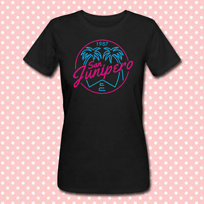 T-shirt donna San Junipero, Black Mirror inspired, serie tv