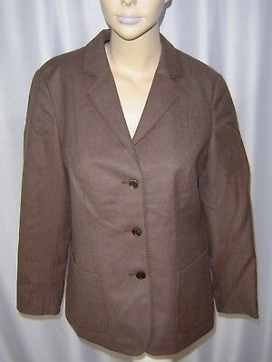 dolzer Damen Blazer Gr. 40 reine Schurwolle Made in West Germany 70er jahre
