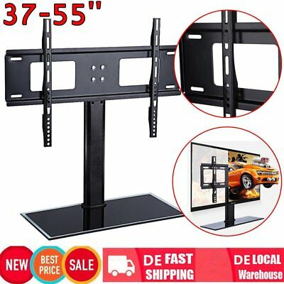 tv universal standfu 32 70 zoll 60x40cm lcd plasma led halter fernseher st nder eur 26 99. Black Bedroom Furniture Sets. Home Design Ideas