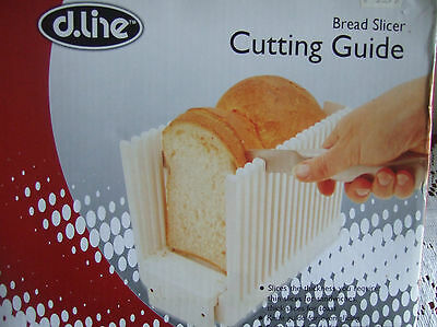 BREAD SLICER , in BOX . IDEAL for CUTTING  HOME MADE BREAD