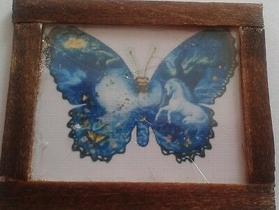 Dolls House  Pretty butterfly  picture
