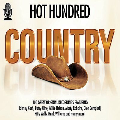 Hot Hundred Country Hits 100 Greatest Country New 4 Cd Boxset Best Of Country