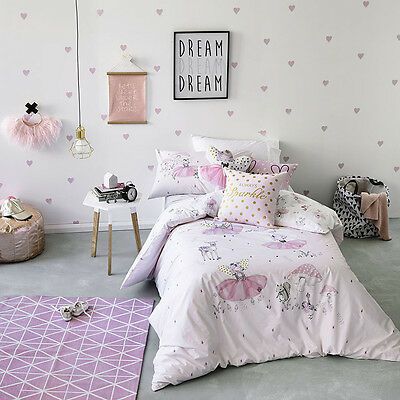 Adairs Kids Fairy Sparkle Cot Quilt Cover Set BRAND NEW - RRP $109.95