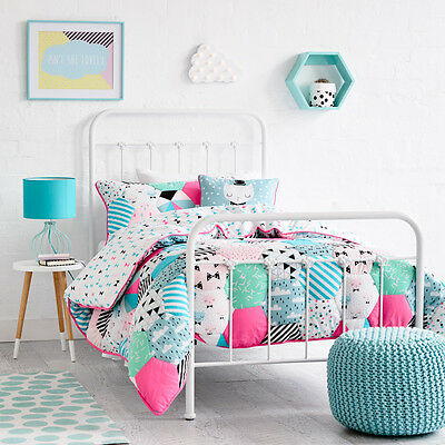 Adairs Kids Hattie Quilted Cot Quilt Cover Set BNIB - RRP $129.95