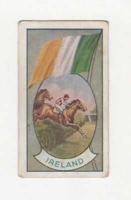 Allen's Confectionery - Sports and Flags of Nations - Ireland  - Steeplechase