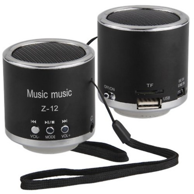 Rechargeable Digital Speakers FM Radio 3.5 mm Audio Jack USB Port For Laptop MP3