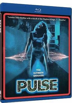 Blu Ray PULSE. Cliff de Young 1988 horror. Region free. New sealed.