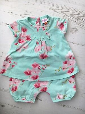 Ted Baker Baby Girls All In One Romper Outfit Size 0-3 Months Worn Once