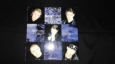 Boyzone Living the Dream Retro Pop Music Hardback (1997)