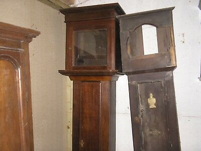 Oak Longcase Clock Case