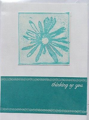 Handmade 'Thinking of You' Card-Blank Inside, Max $2 Post For Any No. of Cards