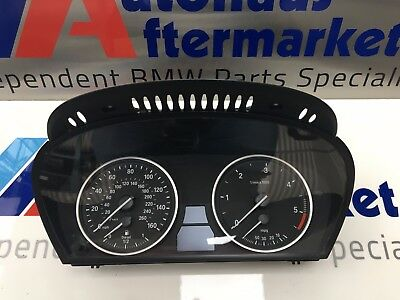 BMW 5 Series E60 LCI Instrument Cluster / Clocks MPH 6210 9177262