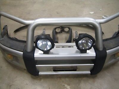 Genuine Toyota Hilux Steel Bullbar Suit 4Wd  06 To 11 Includes Spotlights