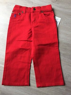 BNWT Polo Ralph Lauren Baby Boy 12 Months Jeans Trousers Pants Bottoms