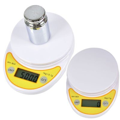 5kg/1g or1kg/0.1g Digital Electronic Kitchen Food Diet Postal Scale Weight Hot