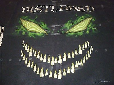 Disturbed Shirt ( Used Size L ) Very Good Condition!!!
