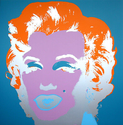 ANDY WARHOL Pop Art - Sunday B Morning - Marilyn Monroe 11.29 Screen print + COA