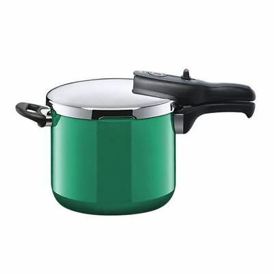 Silit - Energy Ocean Green Sicomatic t-plus Pressure Cooker 6.5Ltr (Made in Germ
