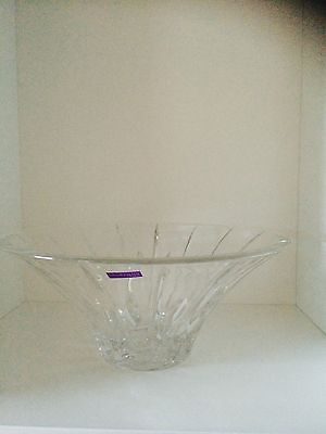 Marquis by Waterford CRYSTAL Sheridan Flarred Bowl 25cm RRP $200.00