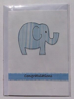 Handmade Card, It's A Boy, Baby, Max $2 Postage For Any Number of Cards