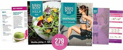 Kayla itsines: alle 7 books BB-BBG2-H.E.L.P ...nutrition guide, vegetarian guide