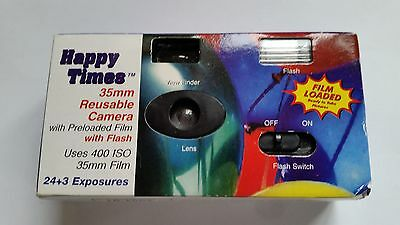 Sakar Happy Times 35Mm Reusable Camera With Preloaded Film