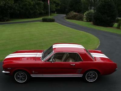 1966 Ford mustang -- 1966 FORD MUSTANG.....V8......GOOD RED PAINT