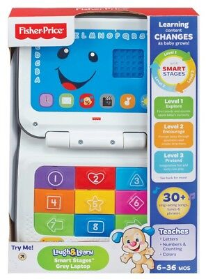 NEW Fisher Price Laugh & Learn Smart Stages Laptop from Mr Toys