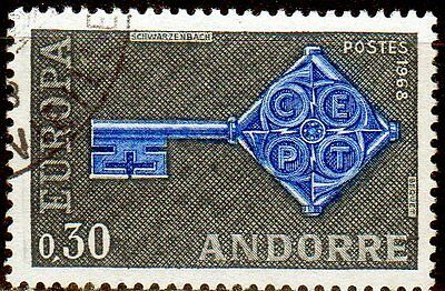 French Andorra. Edifil 208. Very fine used.