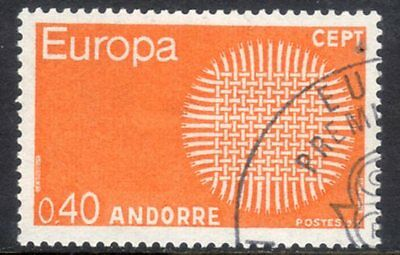 French Andorra. Edifil 222. Very fine used.
