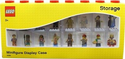 NEW LEGO Red Minifigure Display Case 16 from Mr Toys